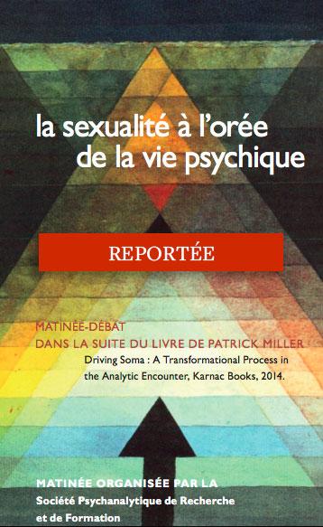 La sexualité à l'orée de la vie psychique - reportée